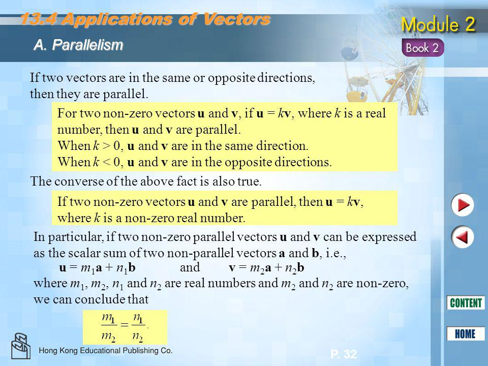 13.4 Applications of Vectors