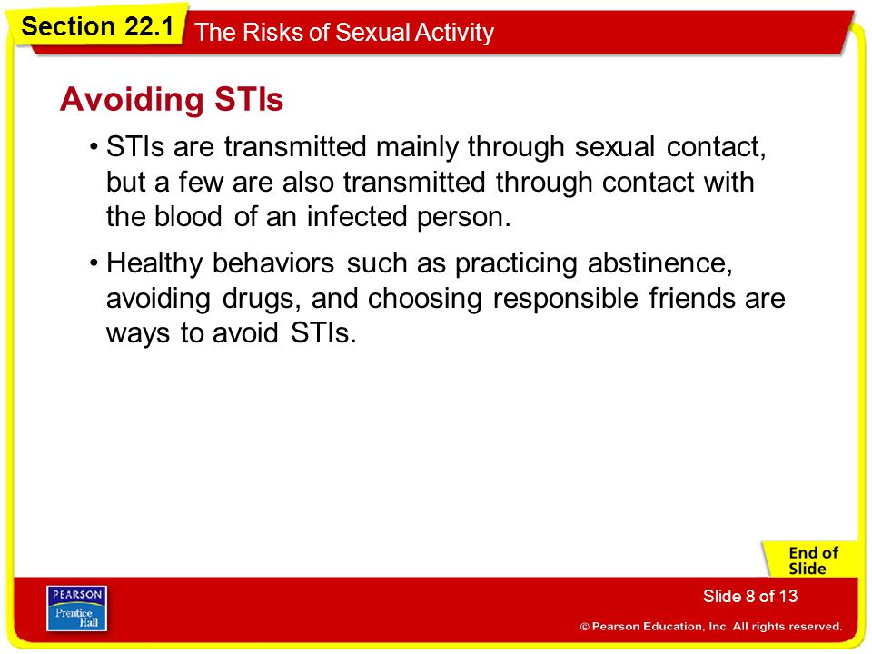 Avoiding STIs