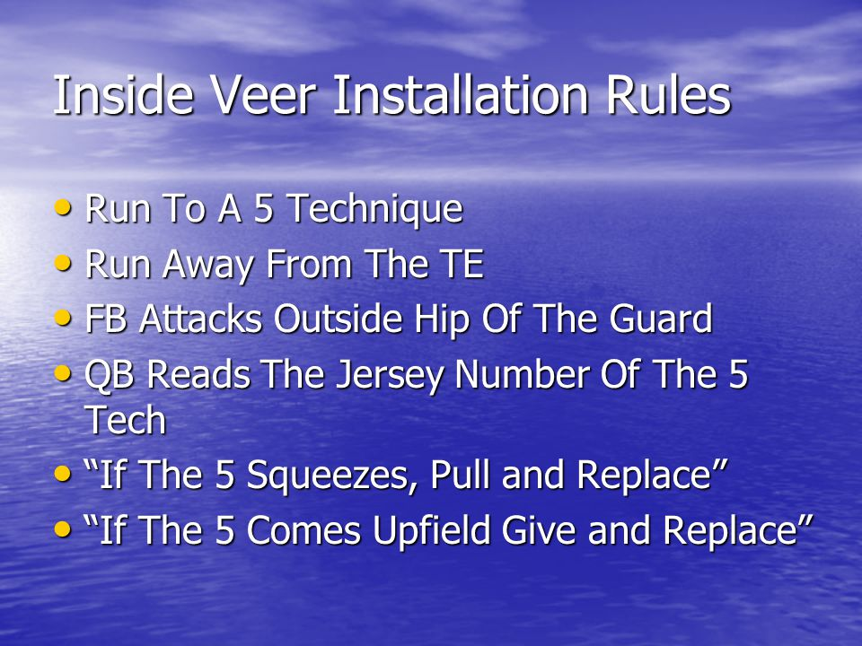 Inside Veer Installation Rules