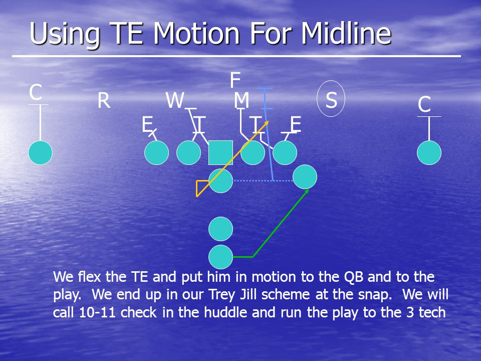 Using TE Motion For Midline