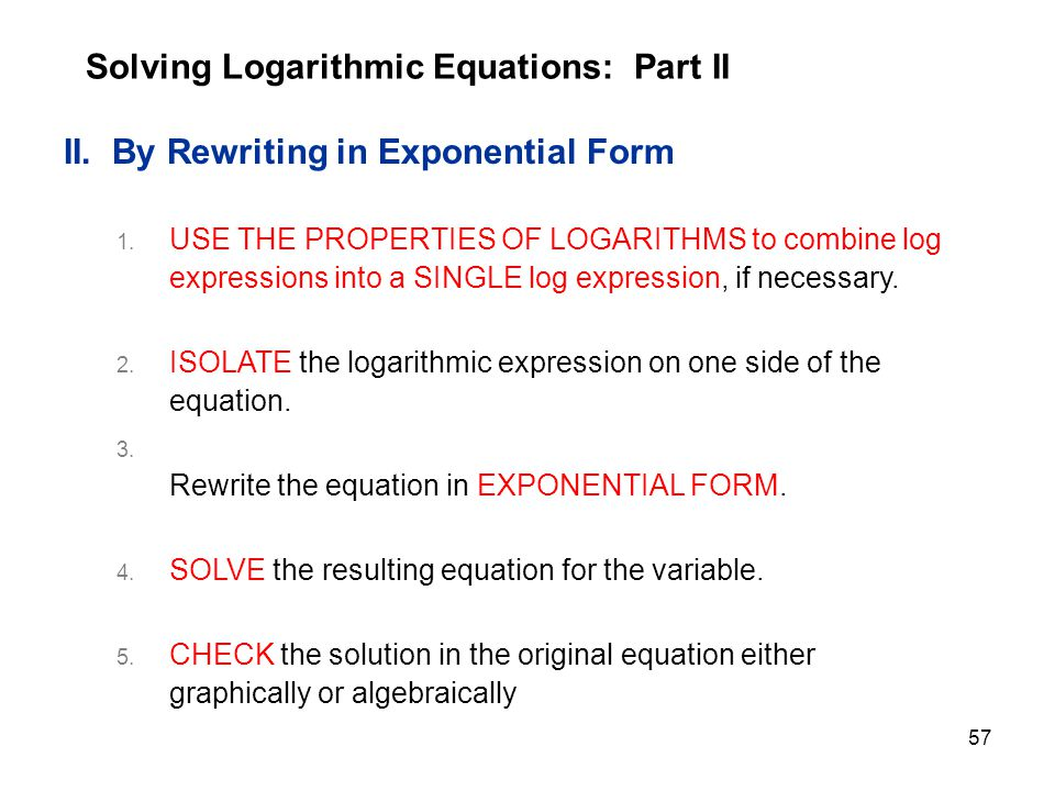 Exponential and Logarithmic Functions - ppt download
