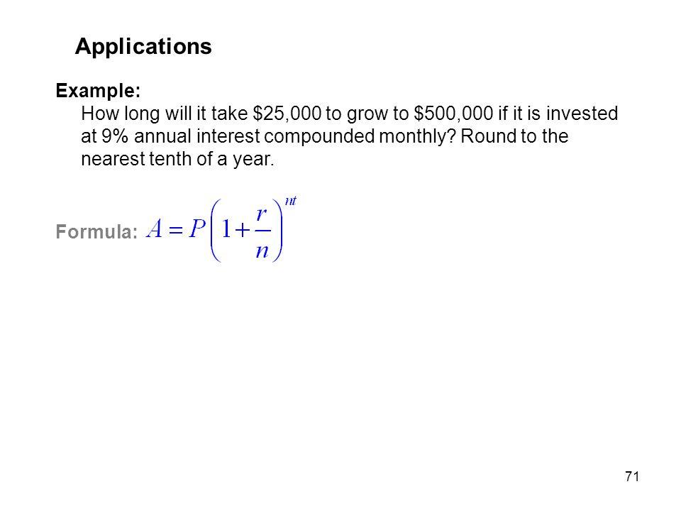 MAT 205 SP 2009 Applications.