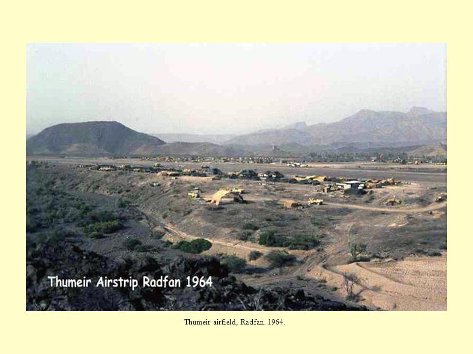 Thumeir airfield, Radfan. 1964.