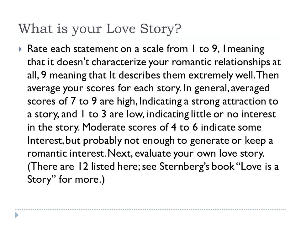 What is your Love Story