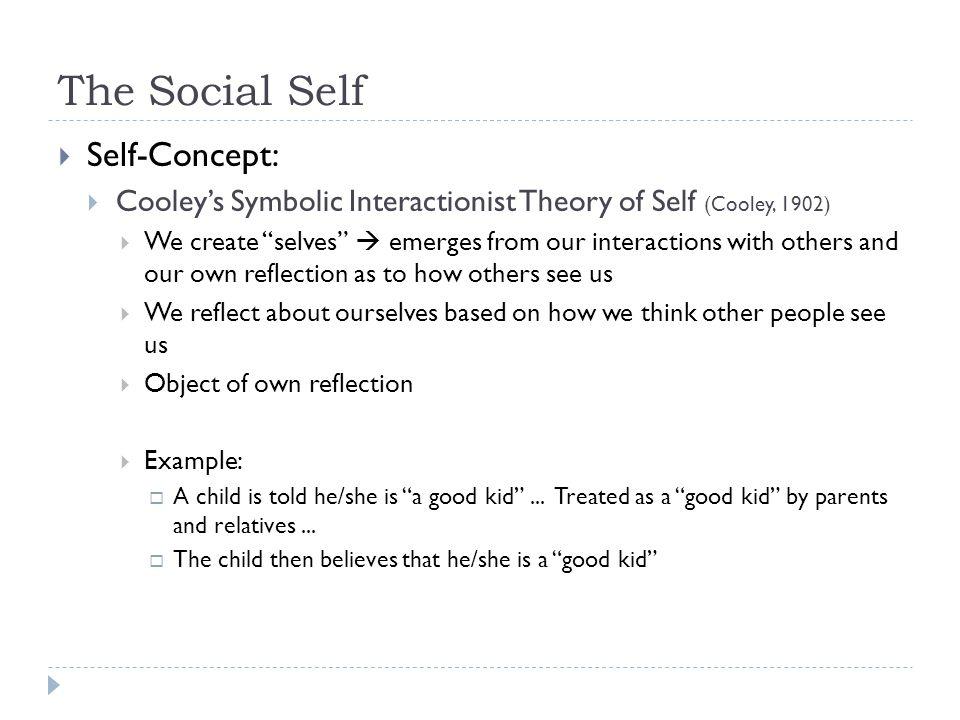 The Social Self Self-Concept: