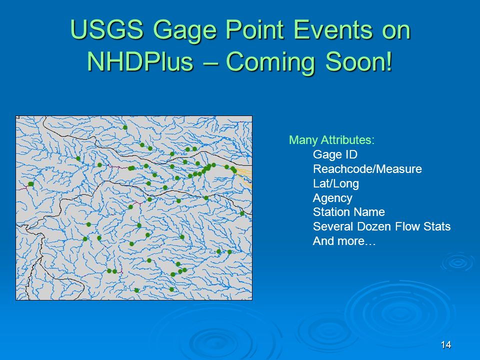 USGS Gage Point Events on NHDPlus – Coming Soon!