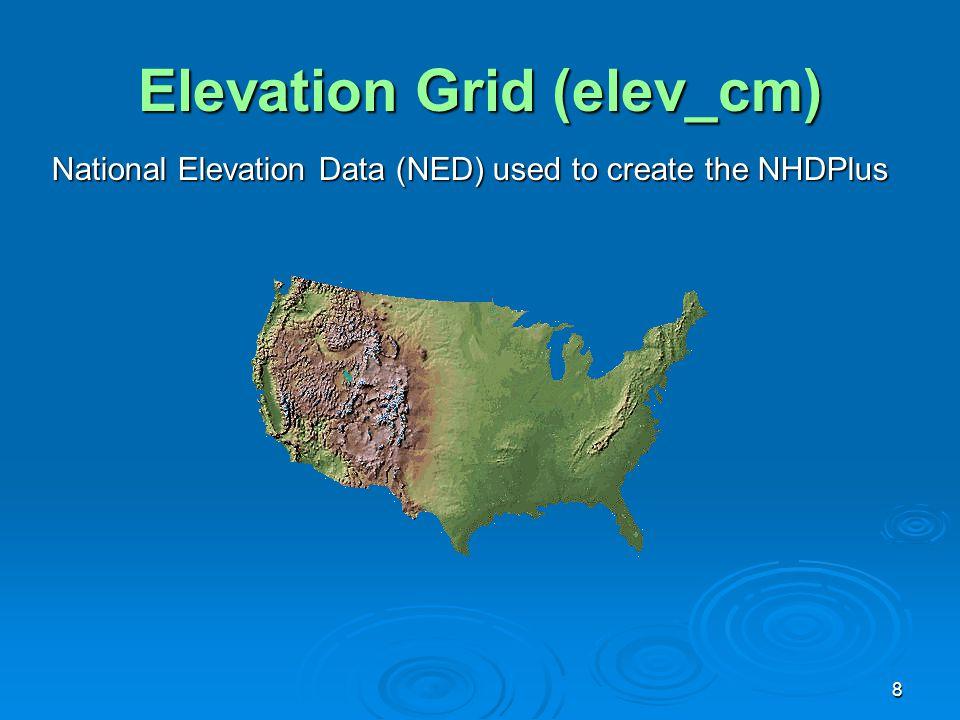 Elevation Grid (elev_cm)