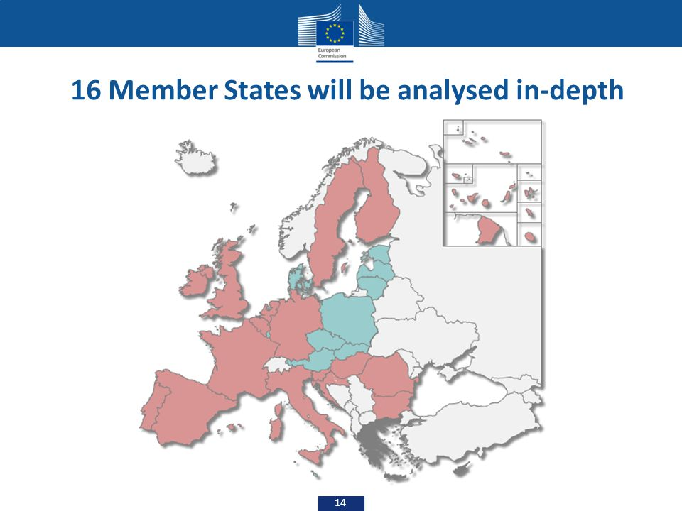 16 Member States will be analysed in-depth
