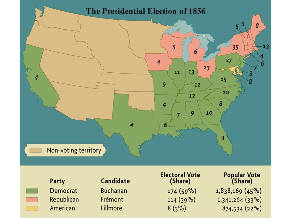 The Presidential Election of 1856 • pg. 485