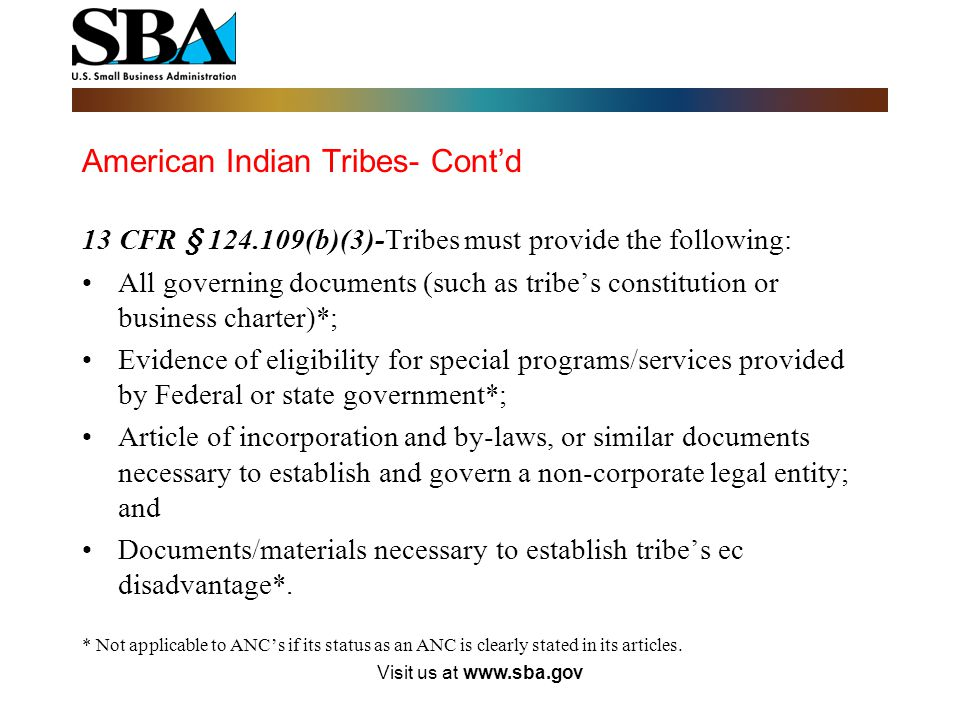 American Indian Tribes- Cont'd