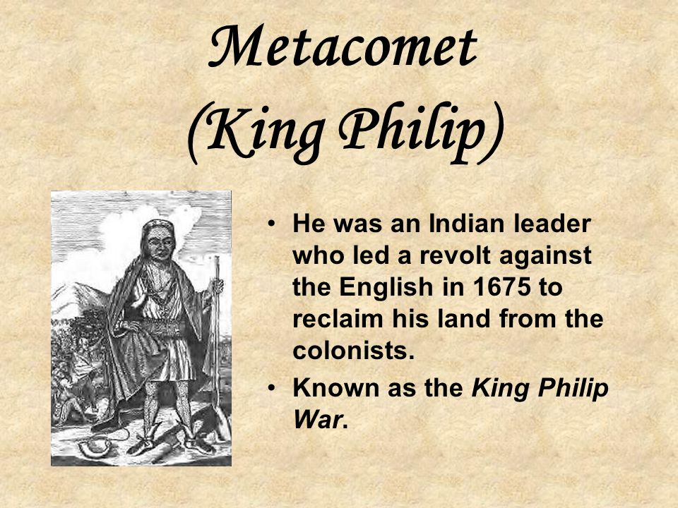 Metacomet (King Philip)