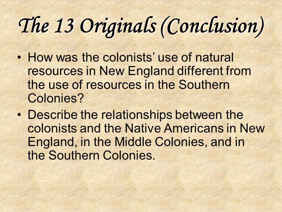 The 13 Originals (Conclusion)