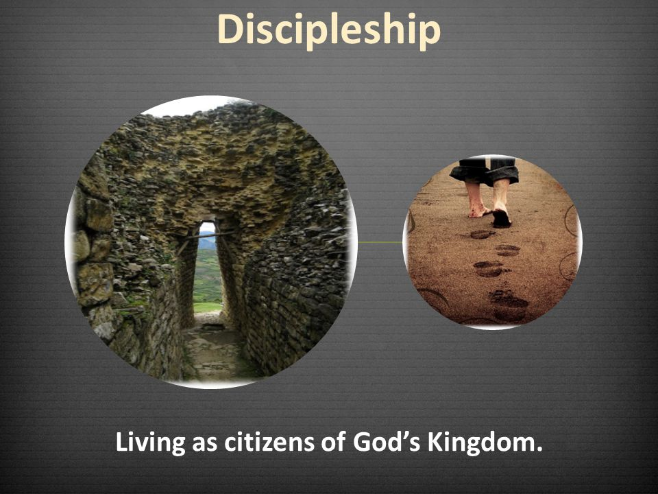 Living as citizens of God's Kingdom.