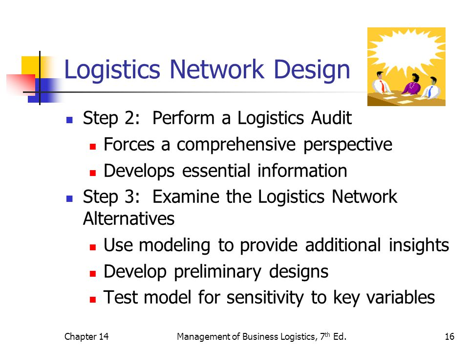 Logistics Network Design