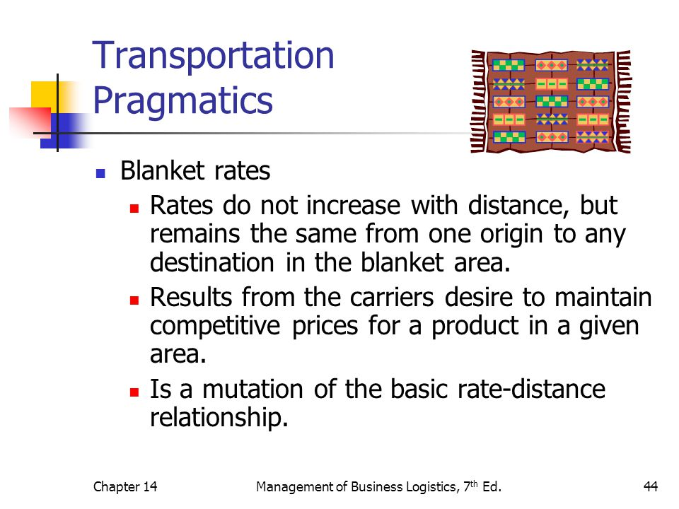 Transportation Pragmatics