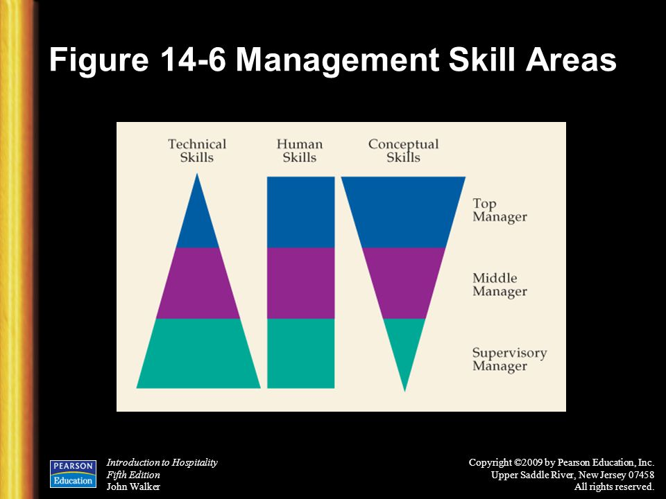 Figure 14-6 Management Skill Areas