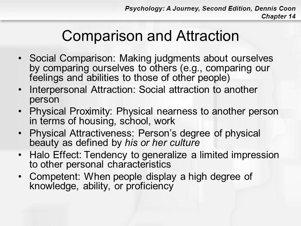 Comparison and Attraction