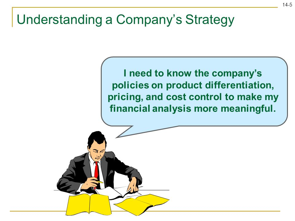 Understanding a Company's Strategy