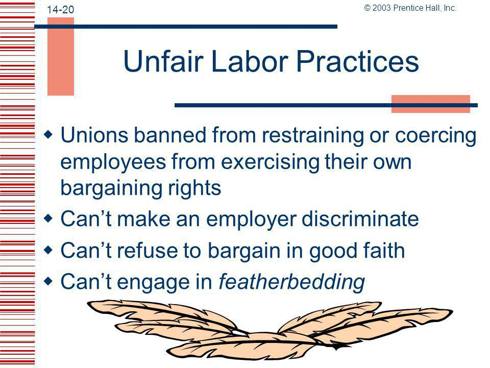 Unfair Labor Practices