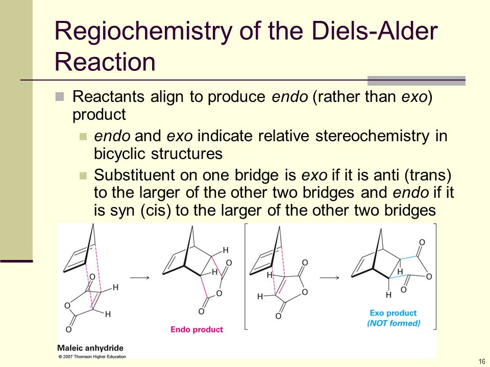 Regiochemistry of the Diels-Alder Reaction