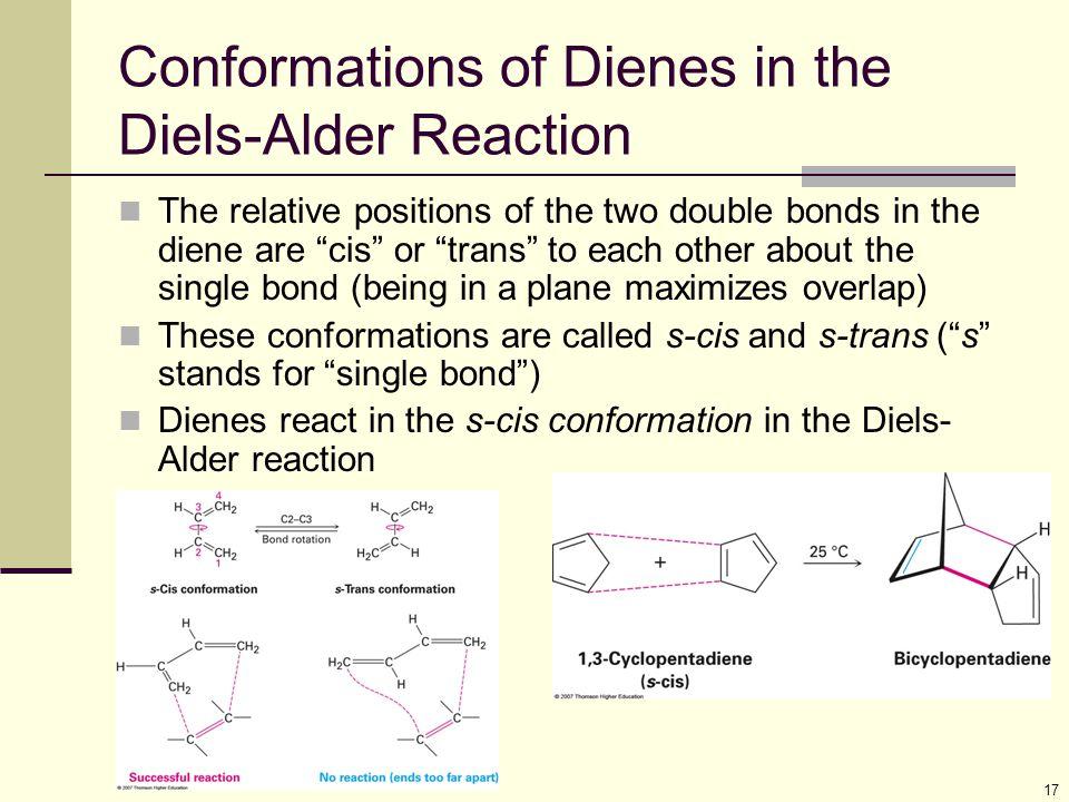 Conformations of Dienes in the Diels-Alder Reaction