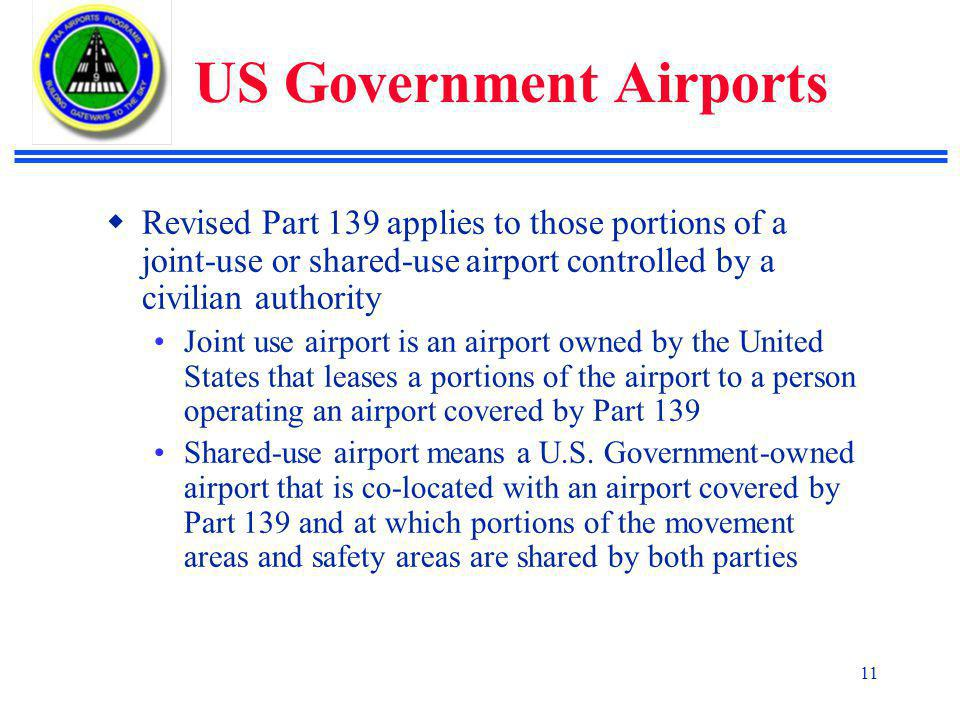 US Government Airports