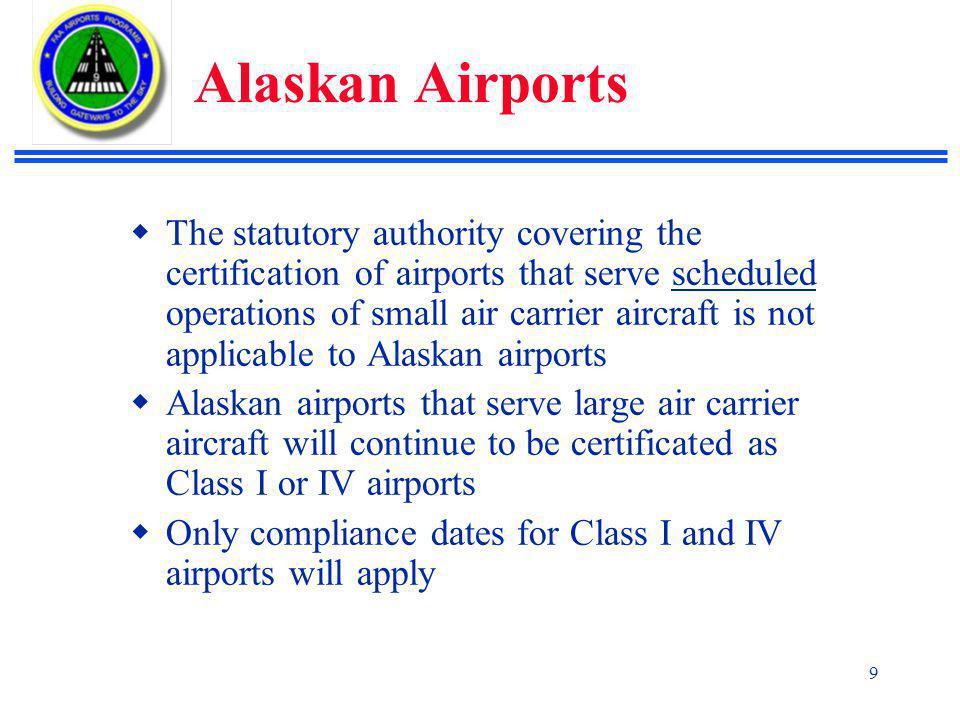 Alaskan Airports
