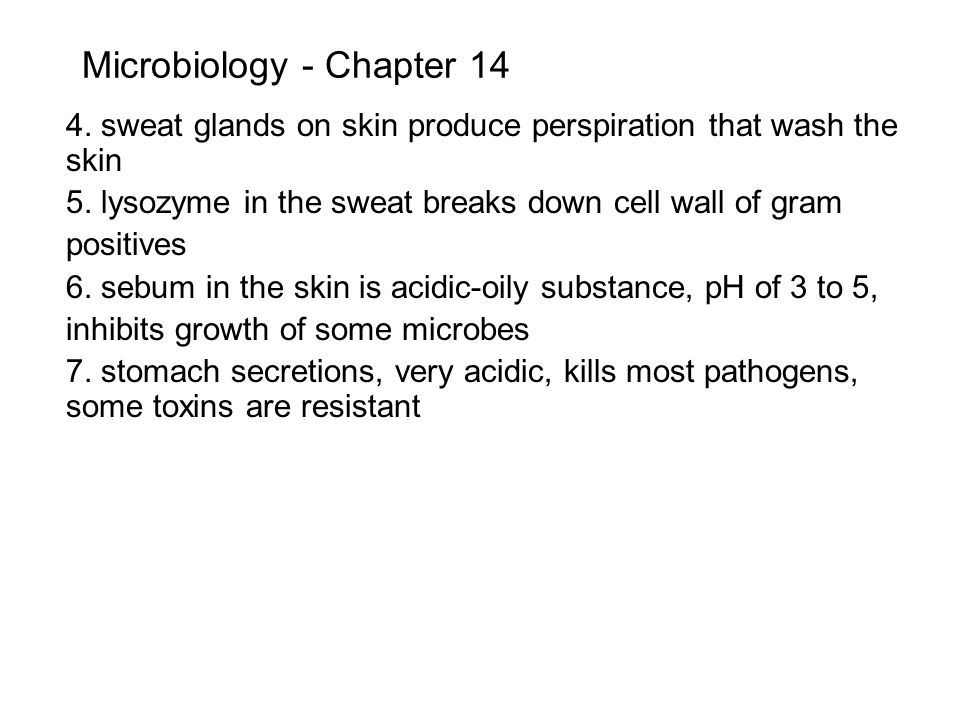 Microbiology - Chapter 14