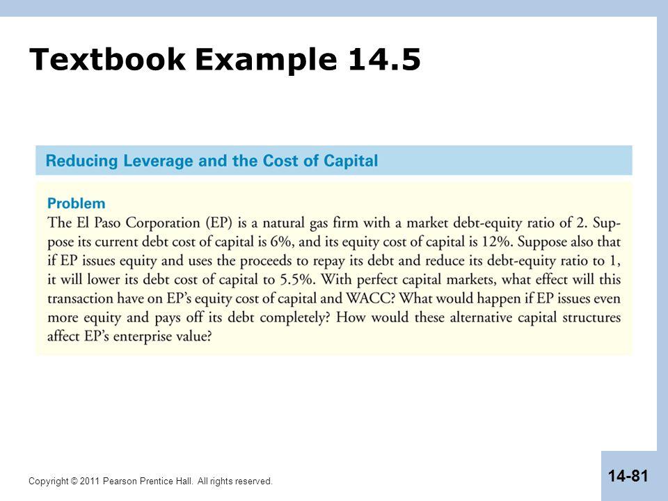 Textbook Example 14.5