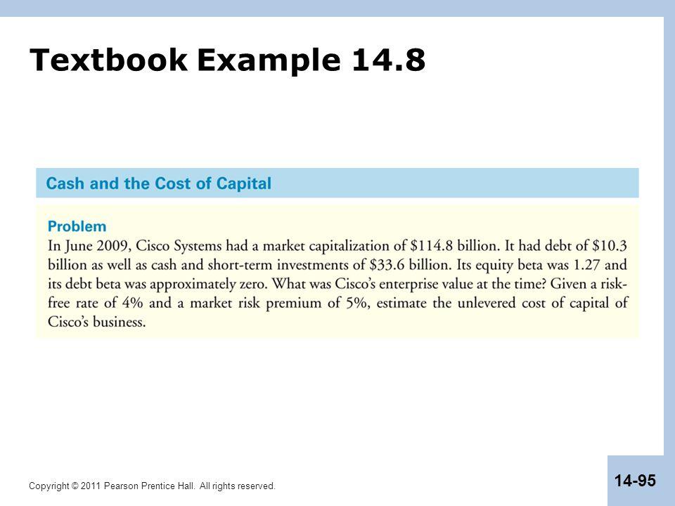 Textbook Example 14.8
