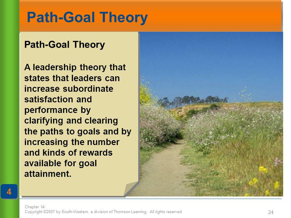 Path-Goal Theory Path-Goal Theory