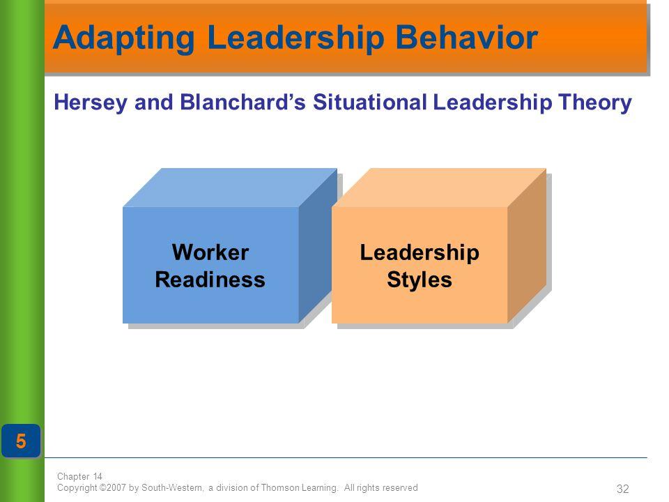 Adapting Leadership Behavior