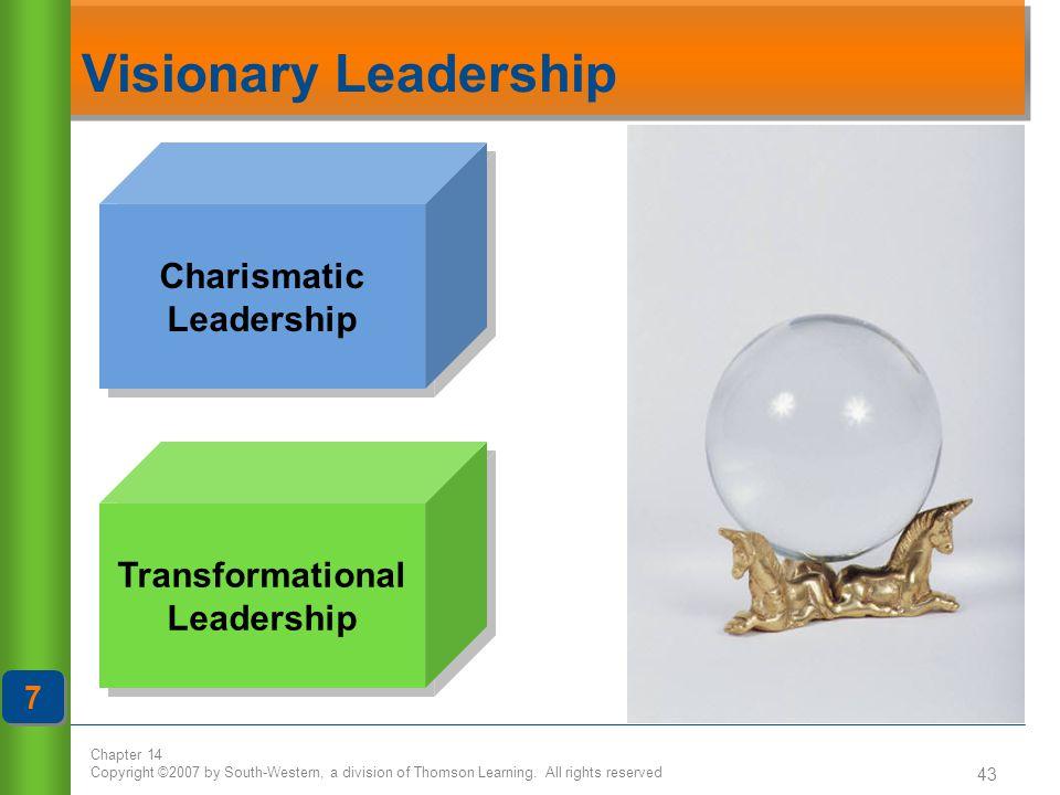 Charismatic Leadership Transformational Leadership