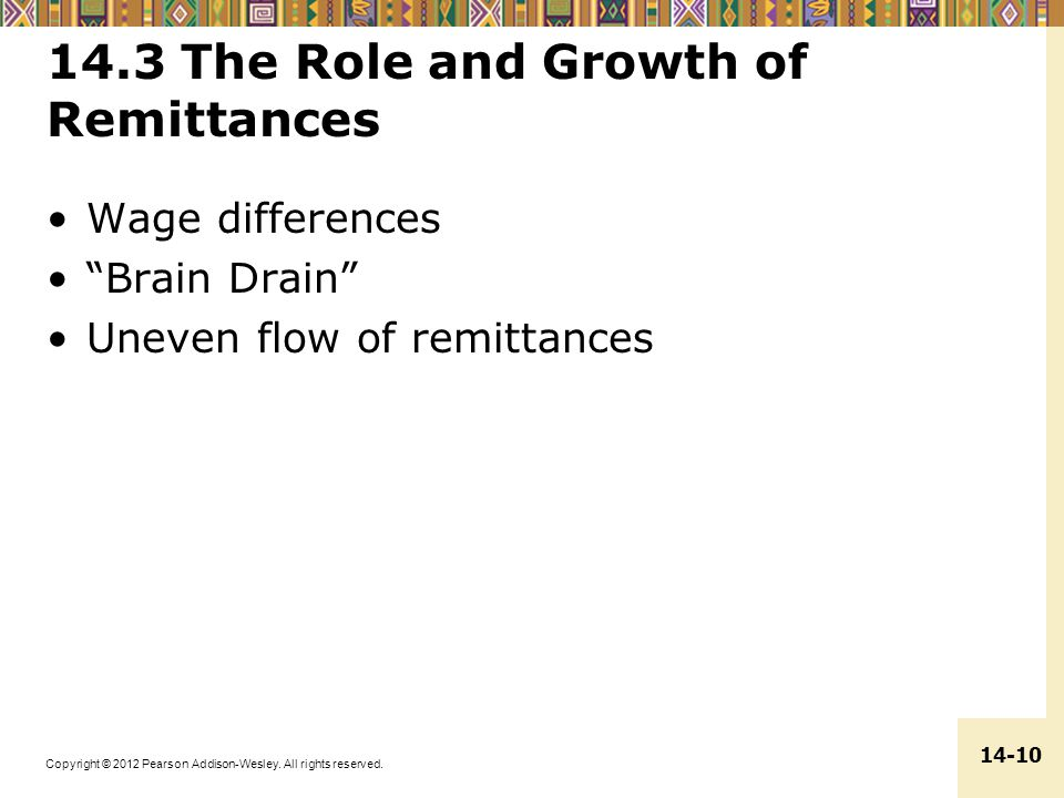 14.3 The Role and Growth of Remittances