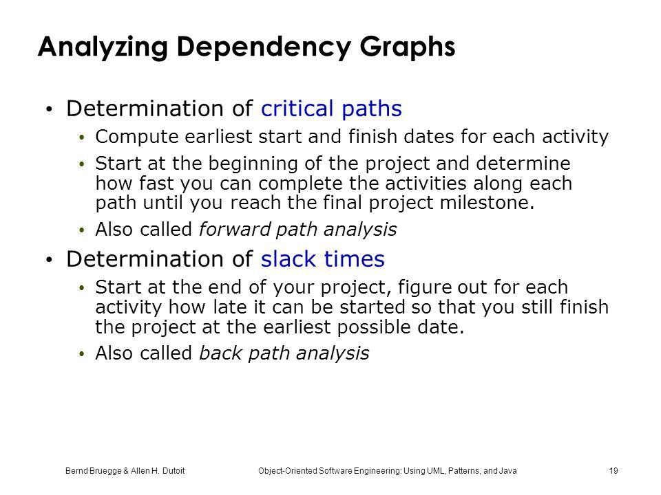 Analyzing Dependency Graphs