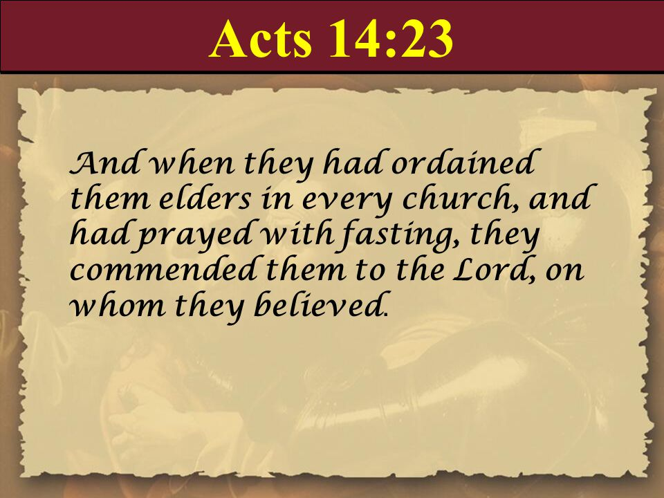 Acts 14:23