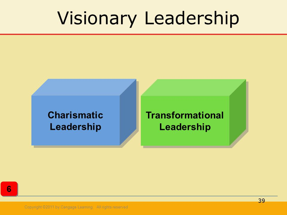 Charismatic Leadership Transformational Leadership