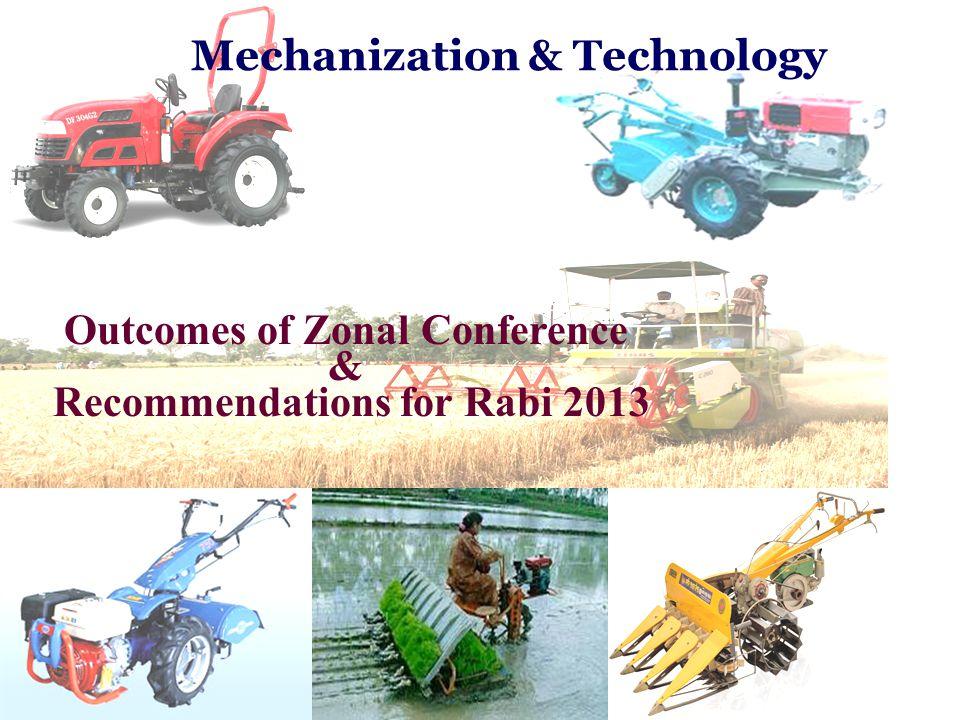 Mechanization & Technology