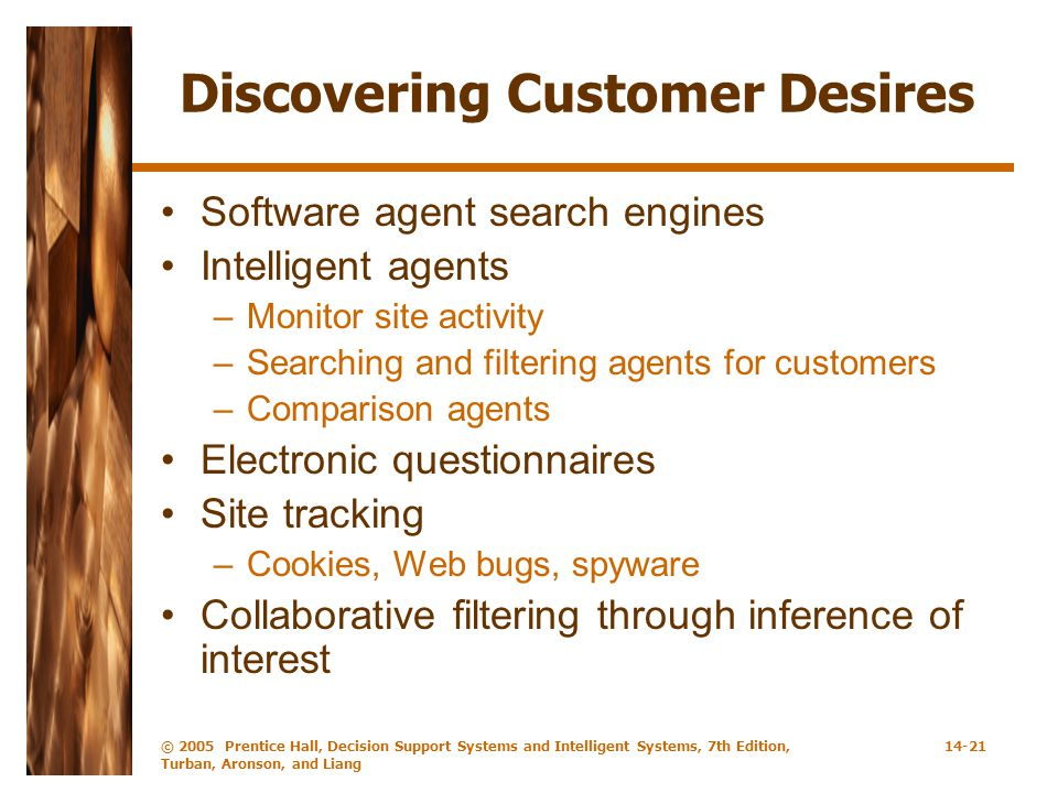Discovering Customer Desires