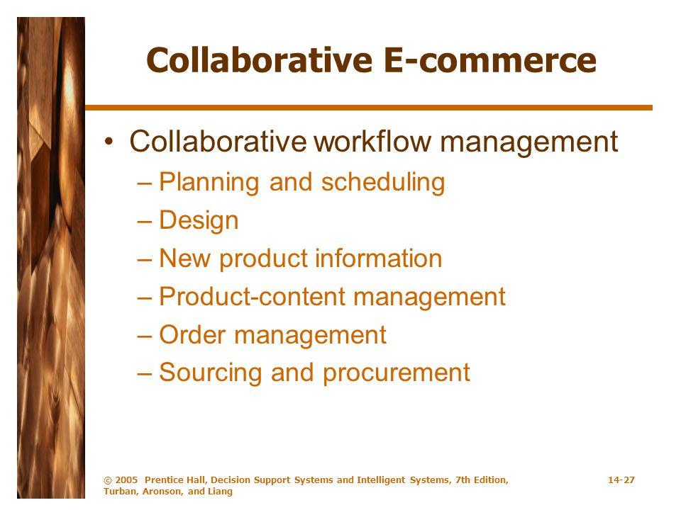 Collaborative E-commerce