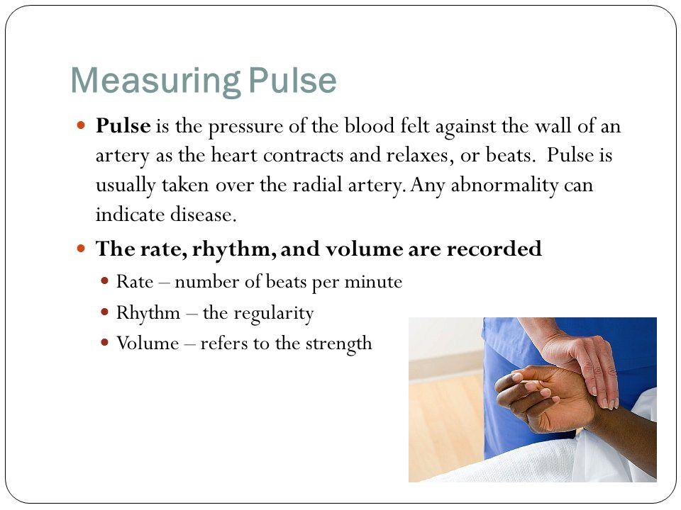 Measuring Pulse