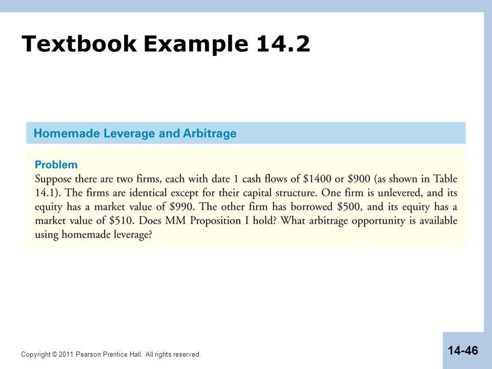 Textbook Example 14.2