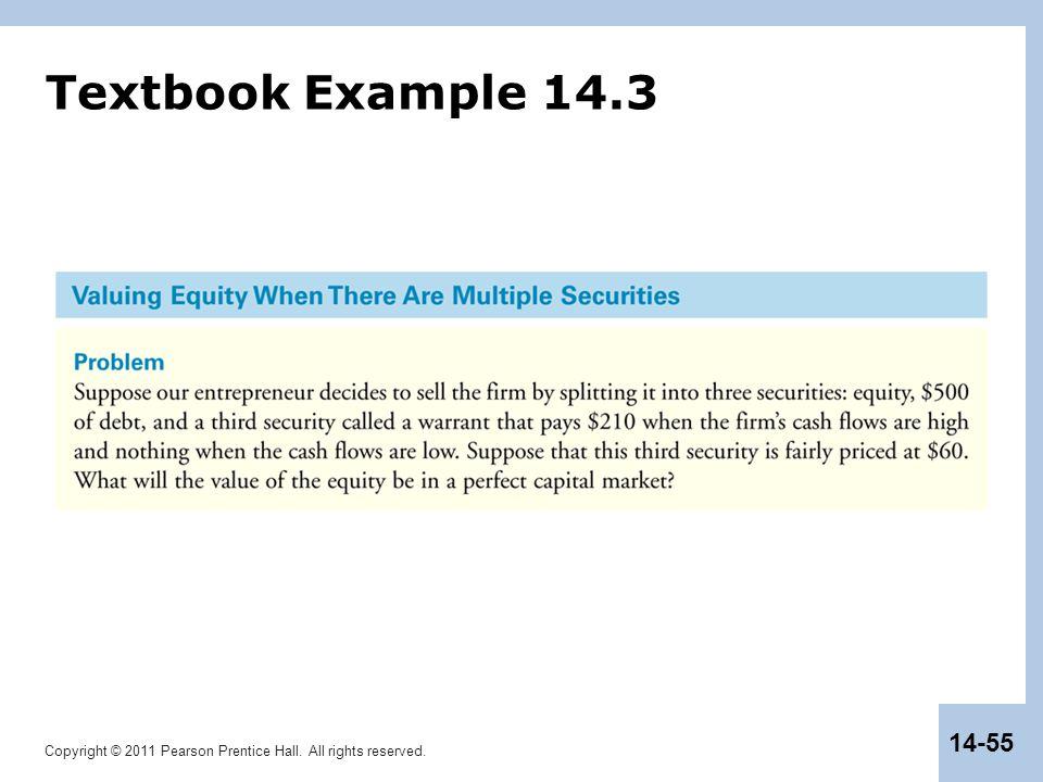 Textbook Example 14.3