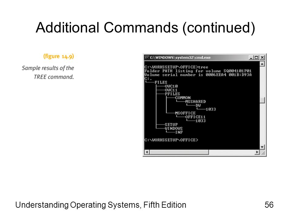 Additional Commands (continued)