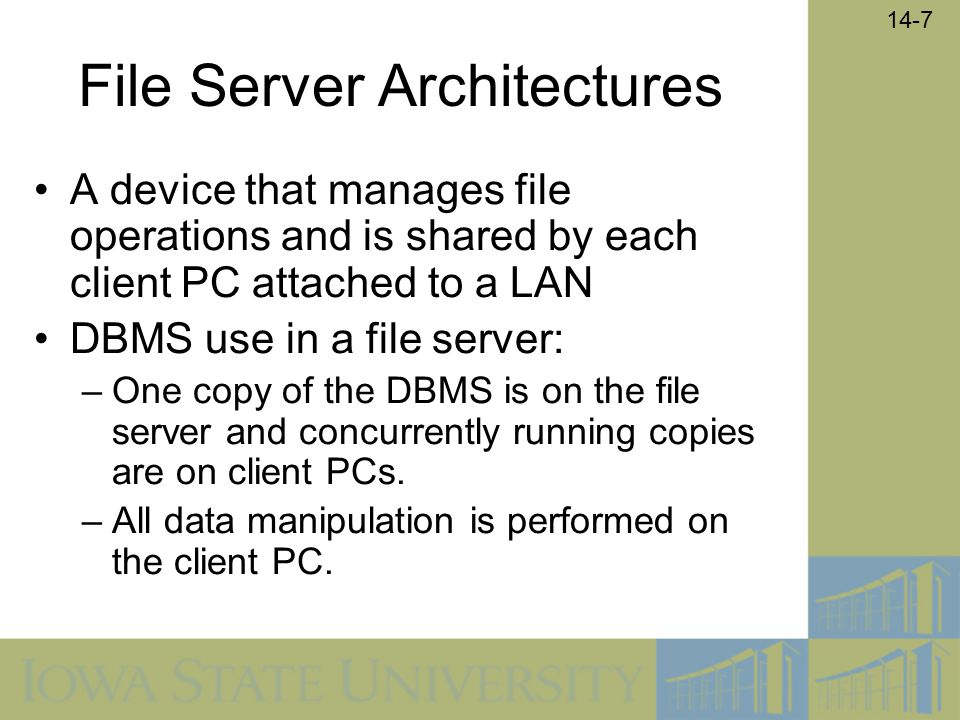 File Server Architectures