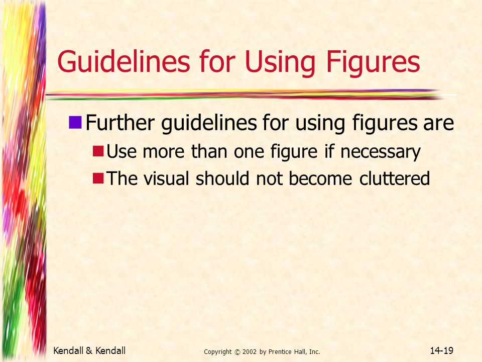 Guidelines for Using Figures