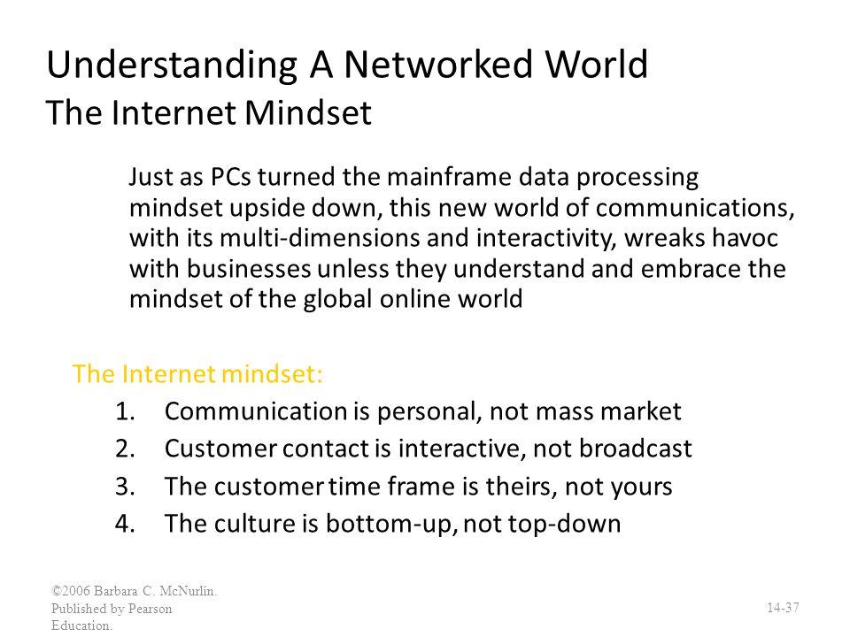 Understanding A Networked World The Internet Mindset