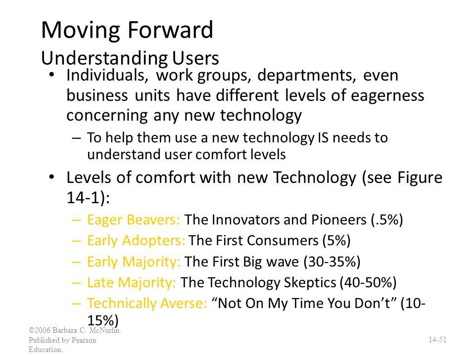 Moving Forward Understanding Users