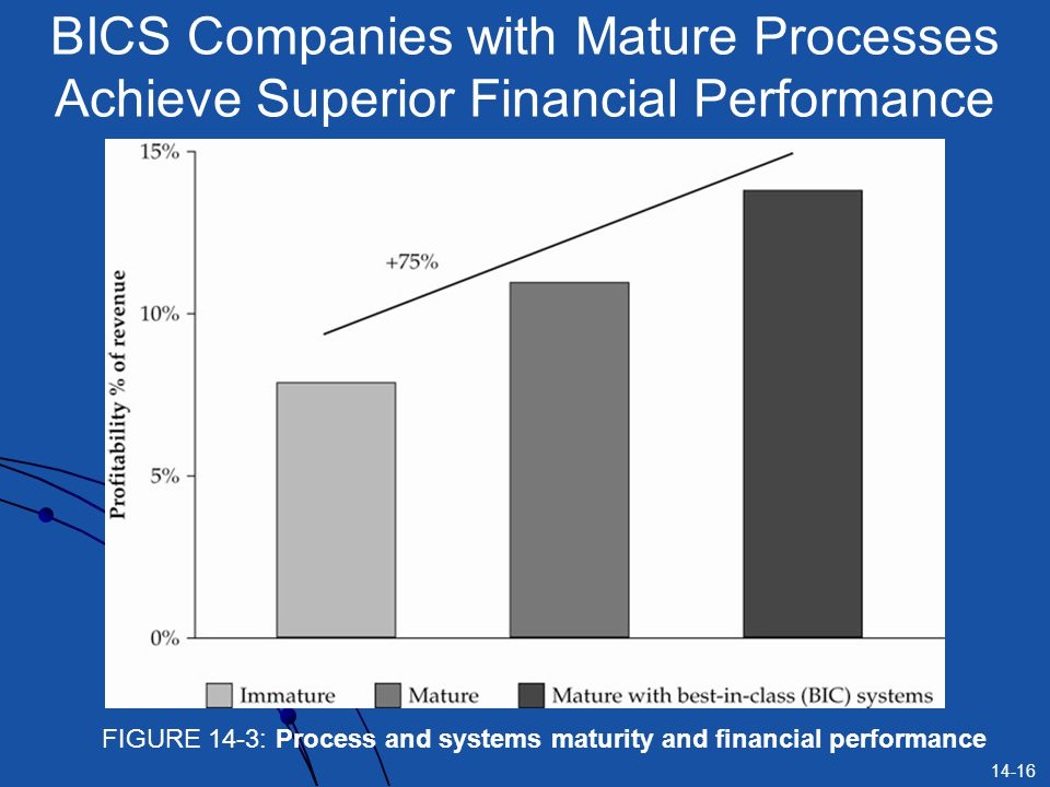 BICS Companies with Mature Processes Achieve Superior Financial Performance