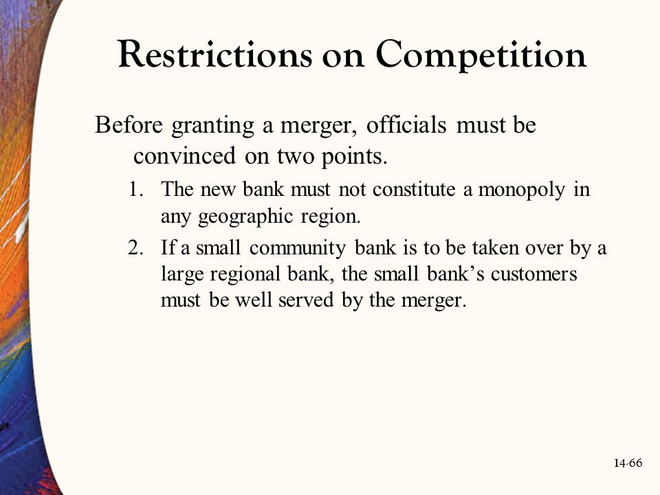 Restrictions on Competition